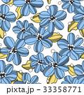 植物 花 花柄のイラスト 33358771