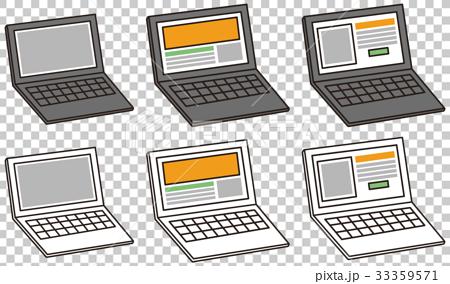 ノートパソコン PC ノートPC コンパクト モニター キーボード windows mac 33359571