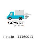 配達 快速 出荷のイラスト 33360013