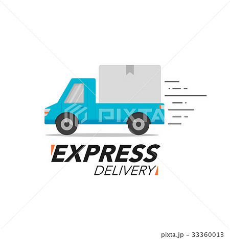Express delivery icon concept. Pickup service 33360013