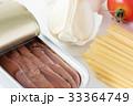 アンチョビとにんにくとミニトマトのパスタの材料 33364749