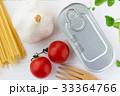 アンチョビとミニトマトとにんにくのパスタの材料 33364766