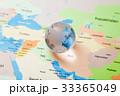 地図と地球 グローバルイメージ 33365049