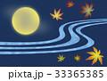 月 満月 十五夜のイラスト 33365385