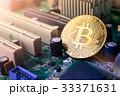 ビットコイン 金 コインの写真 33371631