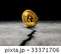 ビットコイン 金 コインの写真 33371706