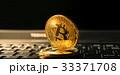 ビットコイン 金 コインの写真 33371708