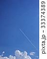 青空とひこうき雲 33374389