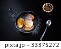 スプーン パンケーキ 食の写真 33375272