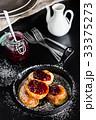パンケーキ 揚げ 上の写真 33375273