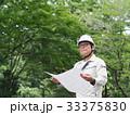 男性 図面 現場監督の写真 33375830