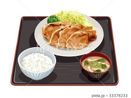 生姜焼き定食 33376233