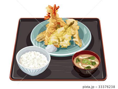 天ぷら定食 33376238