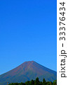 20170823富士吉田から夏の朝の快晴の富士山 33376434