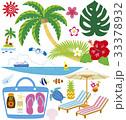 夏 南国 海のイラスト 33378932