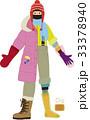 オーロラ服観測の装い 33378940