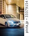 車 夜 白の写真 33379154