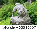 犬の石像 33390007