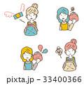 金欠のセット【線画・シリーズ】 33400366