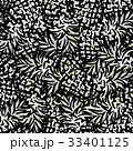Ink hand drawn seamless pattern with pineapples 33401125