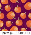 Colorful seasonal seamless pattern with pumpkins 33401131