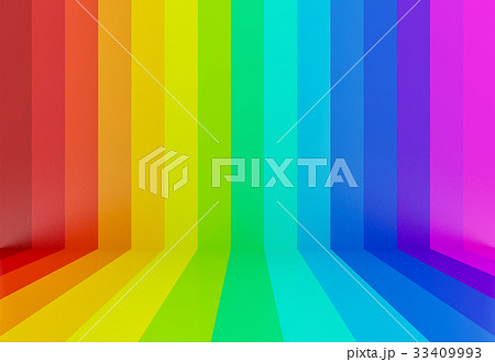 abstract colorful rainbow perspective background 33409993