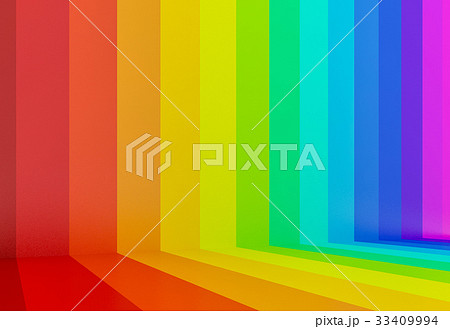 abstract colorful rainbow perspective background 33409994
