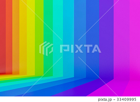 abstract colorful rainbow perspective background 33409995