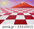 油絵遠近赤富士 33410015