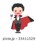 吸血鬼の仮装をした男の子のイラスト 33411329