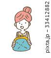 主婦と財布【線画・シリーズ】 33412882