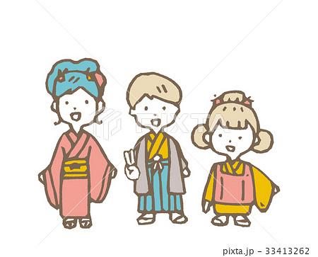 七五三【線画・シリーズ】 33413262