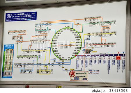 東京 モノレール 路線 図