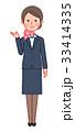 女性 人物 スーツのイラスト 33414335