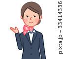 女性 人物 スーツのイラスト 33414336