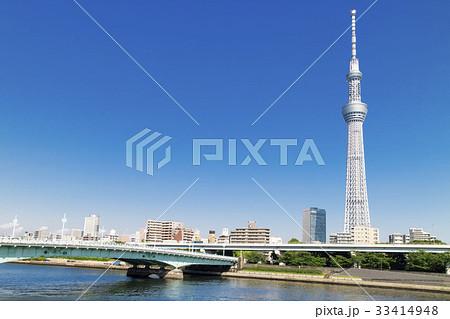東京スカイツリーのある風景 33414948