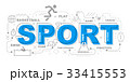 Sport icons illustration graphic design.vector 33415553