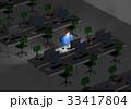 残業 ビジネス ビジネスマンのイラスト 33417804