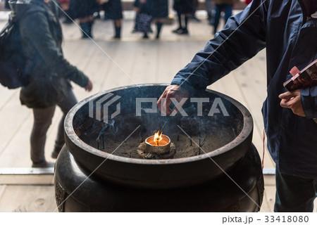 京都 清水寺 常香炉 33418080