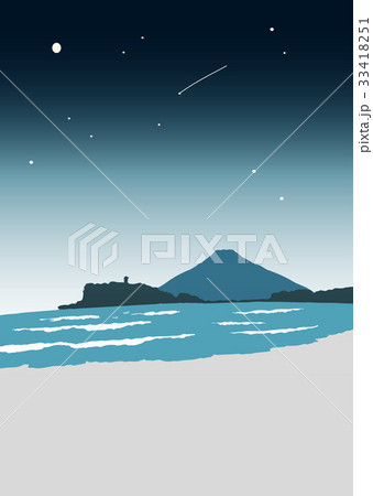 江ノ島 イラスト 33418251