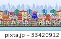 市街 町 都市のイラスト 33420912