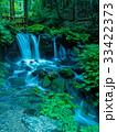 全国名水百選 湧水 滝の写真 33422373