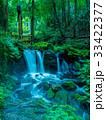 全国名水百選 湧水 滝の写真 33422377