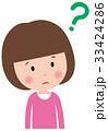 表情 子供 女の子のイラスト 33424286