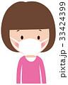 子供 女の子 ベクターのイラスト 33424399