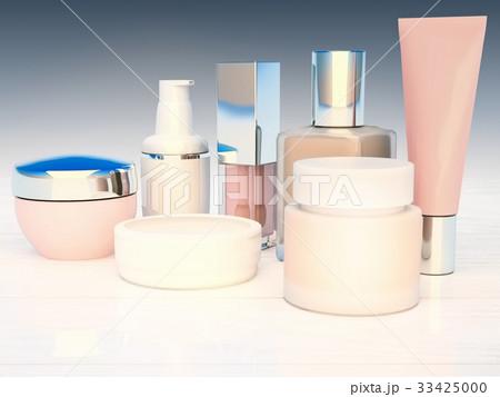 Cosmetics, productsのイラスト素材 [33425000] - PIXTA