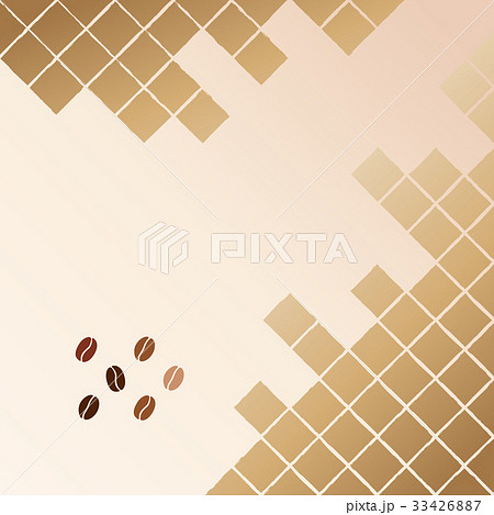 コーヒー豆のイラスト素材 [33426887] - PIXTA