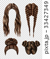 Female Hairstyles Set 33427349