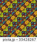 抽象的 デザイン 柄のイラスト 33428267