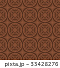 Brown Seamless Pattern Background. Vector. 33428276